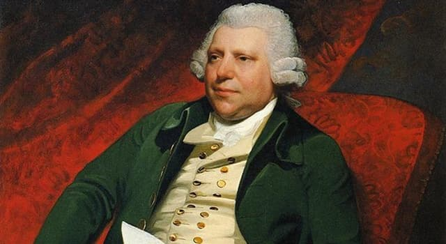 History Trivia Question: What was patented by textile industrialist Richard Arkwright?