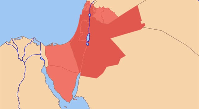 Geography Trivia Question: Which approximate historical geographical term is equivalent to the historical region of Syria?