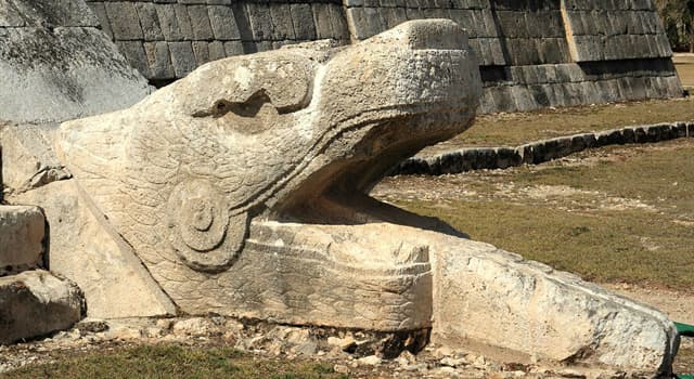 Culture Trivia Question: Which Maya deity is pictured below?