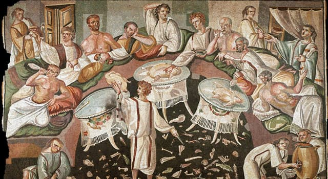 Culture Trivia Question: Which porridge was popular among both average and wealthy ancient Romans?