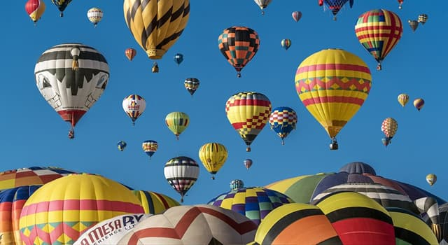 History Trivia Question: Which two brothers invented hot air balloons?