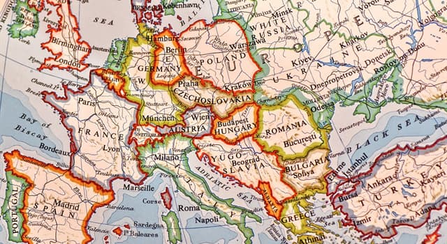 History Trivia Question: Which two European countries were formed after World War I?