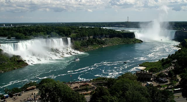 Geography Trivia Question: Which two lakes does the Niagara river connect?