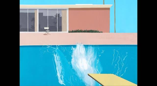 "Culture Trivia Question: Who painted ""A Bigger Splash""?"