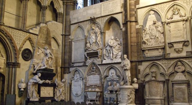 History Trivia Question: Who was the first person to be cremated prior to interment at Westminster Abbey?