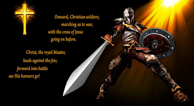 "Culture Trivia Question: Who wrote the tune for the hymn ""Onward, Christian Soldiers""?"