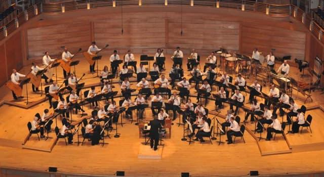Kultur Wissensfrage: Zu welchem Abschnitt eines Orchesters gehört die Marimba?
