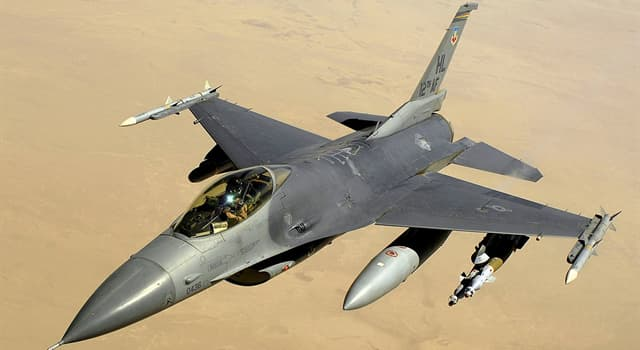History Trivia Question: At which United States Air Force installation did the F-16 Fighting Falcon make its maiden flight?