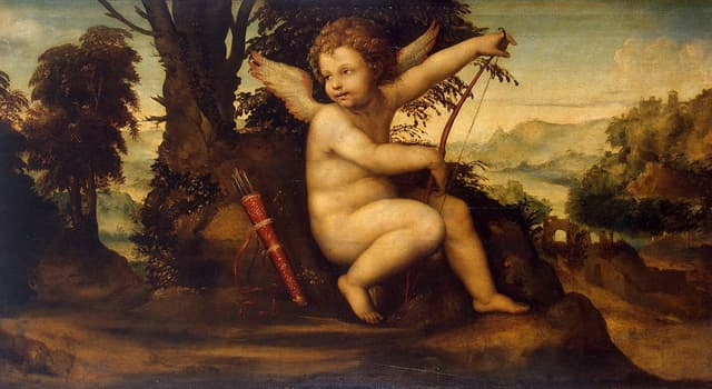 Kultur Wissensfrage: Eros (Amor in der römischen Mythologie) war Kind welcher Göttin?