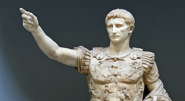 History Trivia Question: Who was the first Roman Emperor?