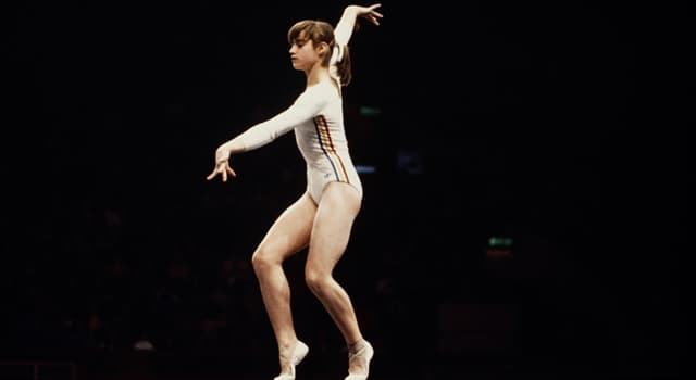 Sport Trivia Question: How many perfect scores of 10 did gymnast Nadia Comăneci receive at the 1976 Olympic games?