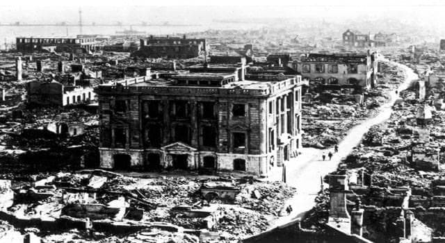History Trivia Question: In 1976, which Chinese city suffered one of the world's deadliest earthquake's?