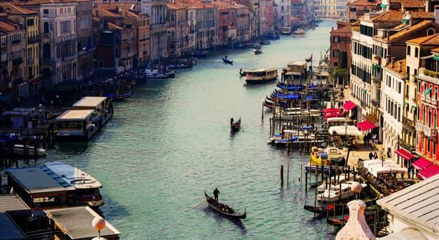 Geographie Wissensfrage: In welcher Stadt befindet sich der Canal Grande?