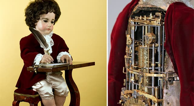 Science Trivia Question: In which country can you find the world's oldest functioning automaton robot?