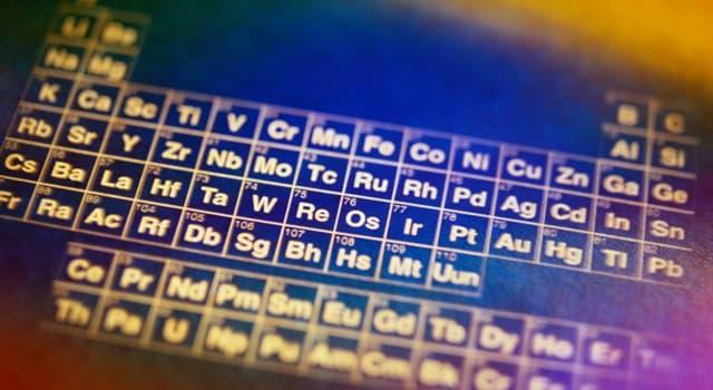 """Wissenschaft Wissensfrage: """"Ir"""" ist ein chemisches Symbol für welches Element?"""