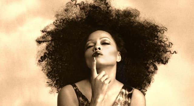"""Kultur Wissensfrage: Mit welchem berühmten Sänger hatte Diana Ross das Lied """"Endless Love""""?"""