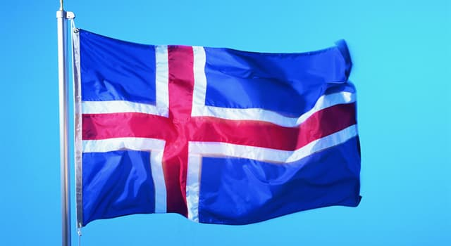 Geography Trivia Question: The flag of which country is in the picture?