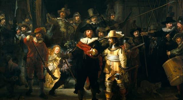 """Kultur Wissensfrage: Von wem wurde das Gemälde """"Die Nachtwache"""" gemalt?"""