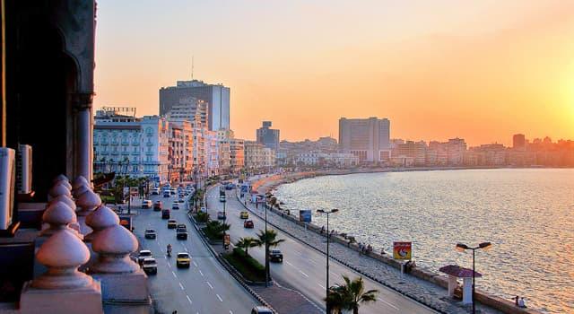 Geschichte Wissensfrage: Von wem wurde die ägyptische Stadt Alexandria gegründet?