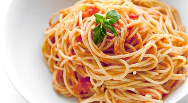"""Kultur Wissensfrage: Was bedeutet das Wort """"Spaghetti"""" ursprünglich?"""