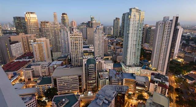 Geographie Wissensfrage: Was ist die Hauptstadt der Philippinen?