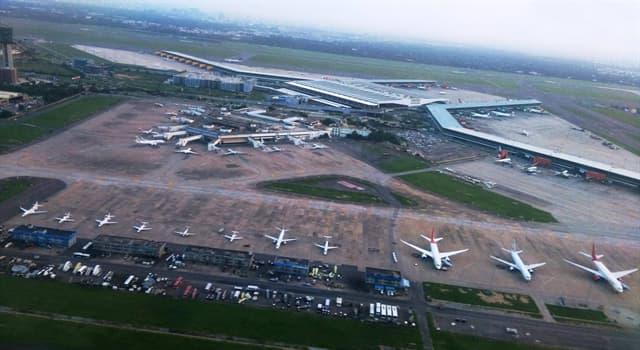Gesellschaft Wissensfrage: Welcher ist seit 2009 der verkehrsreichste Flughafen Indiens?