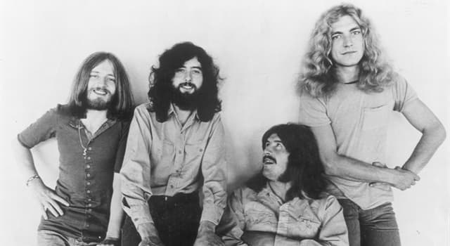 Culture Trivia Question: What caused the English rock band Led Zeppelin to disband in 1980?