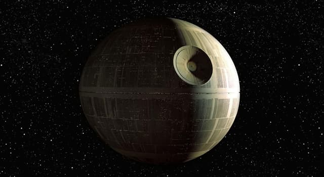 "Movies & TV Trivia Question: What was a fictional mobile space station and galactic superweapon featured in ""Star Wars""?"