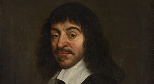 History Trivia Question: What was René Descartes famous for?