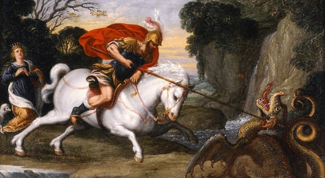 Culture Trivia Question: What was Saint George's occupation before he was sentenced to death?