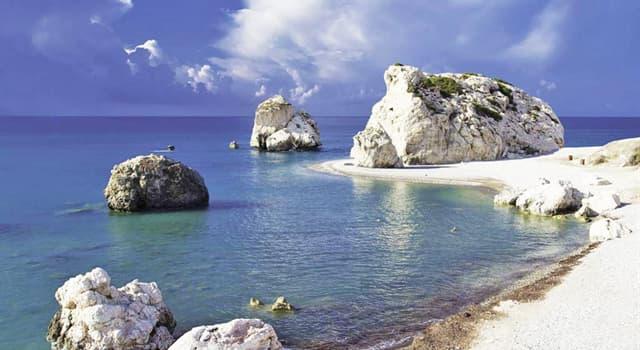 Culture Trivia Question: Where is Aphrodite's Rock located?