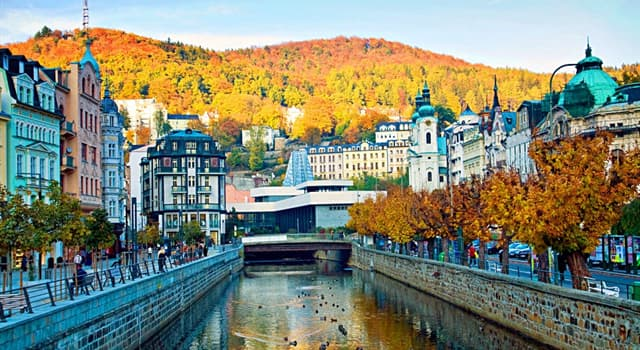 Geography Trivia Question: Where is Karlovy Vary?