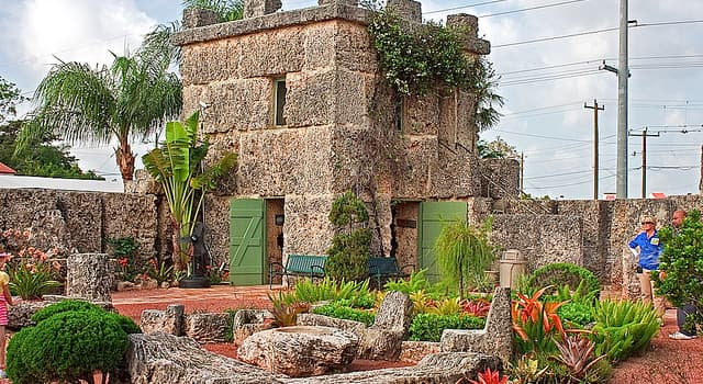 Geography Trivia Question: Where is the Coral Castle located?