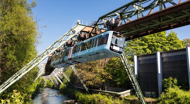 Science Trivia Question: Where is the oldest suspension railway system in the world?