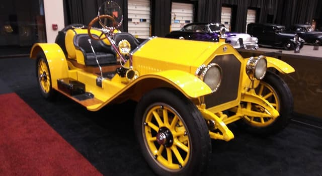Sport Trivia Question: Where was this early 20th century sports car created?