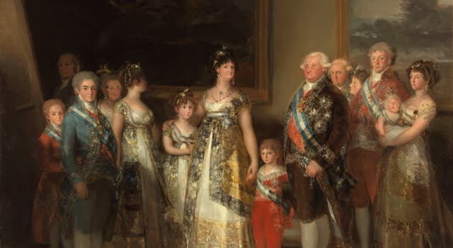 Culture Trivia Question: Which artist was the Court Painter of Charles IV of Spain?