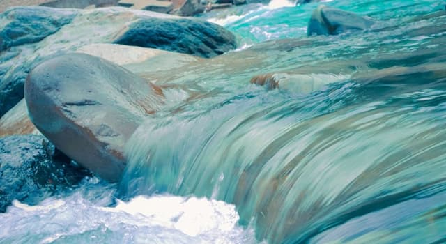Nature Trivia Question: Which is the flow of water that occurs when excess meltwater flows over the Earth's surface?