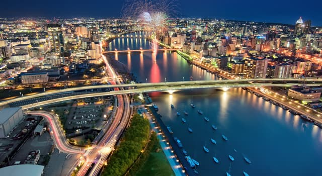 Geography Trivia Question: Which is the longest and widest river in Japan?