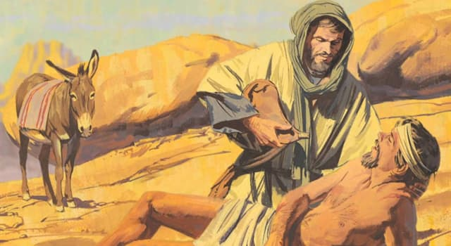 Culture Trivia Question: Which of Jesus' parables was about showing mercy to the injured man, without regard to his origins?