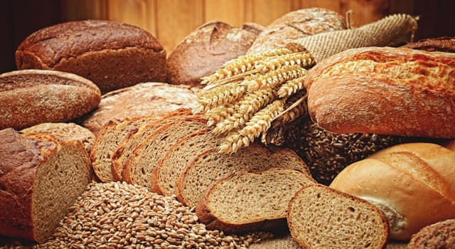 Nature Trivia Question: Which of these grains contains gluten?