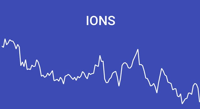 Science Trivia Question: Which of these is a positively charged ion?
