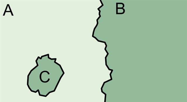 Geography Trivia Question: Which of these is a territory that is entirely surrounded by the territory of one other state?