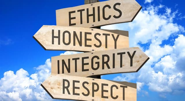 Culture Trivia Question: Which of these is sometimes described as duty, obligation or rule-based ethics?