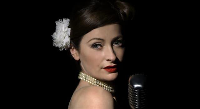 Culture Trivia Question: Who was Edith Piaf?
