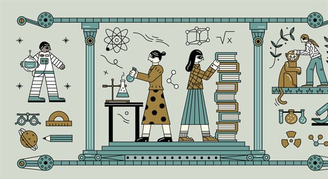Society Trivia Question: Who was the first woman to receive a salary as a scientist?
