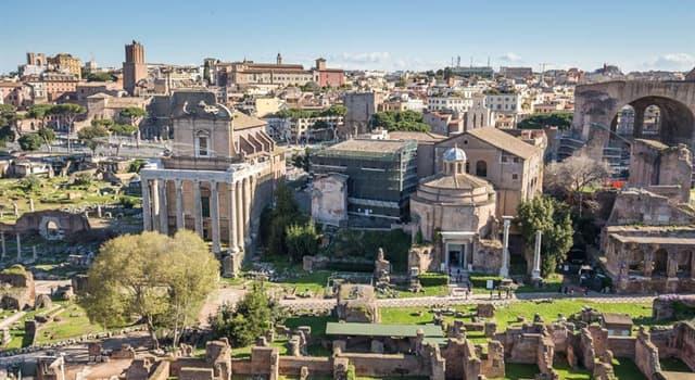 Geographie Wissensfrage: Wie viele Hügel bilden das geografische Herz Roms?