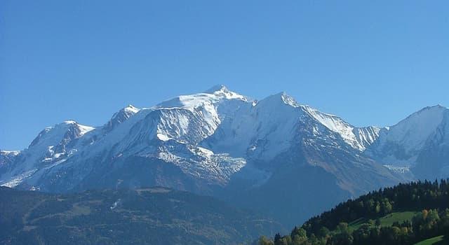 Geographie Wissensfrage: Wo liegen die Alpen?