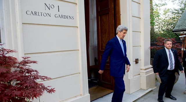 Society Trivia Question: 1 Carlton Gardens is the official residency of which UK political office member?