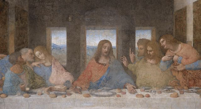 "Culture Trivia Question: How many apostles is Jesus surrounded by in the painting ""The Last Supper""?"