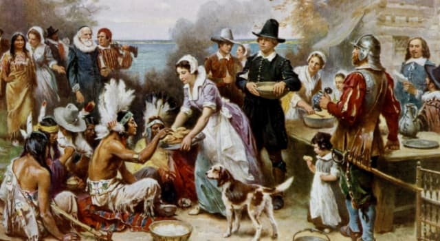 """History Trivia Question: How many Mayflower Pilgrim women survived to prepare the feast we know as """"the first Thanksgiving""""?"""